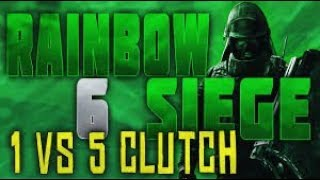 #34 CLUTCH 1 VS 5 IN RANKED !!!