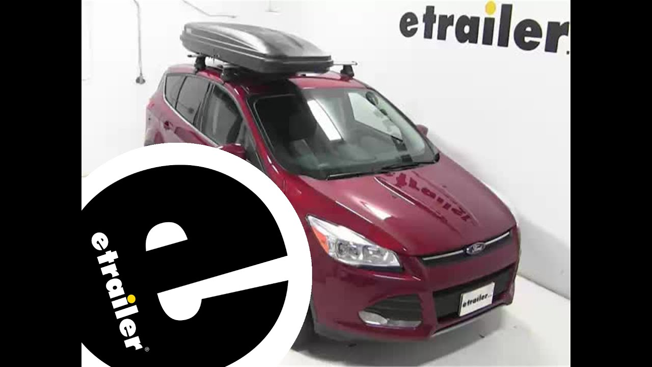 Thule Pulse Alpine Rooftop Cargo Box Review 2014 Ford