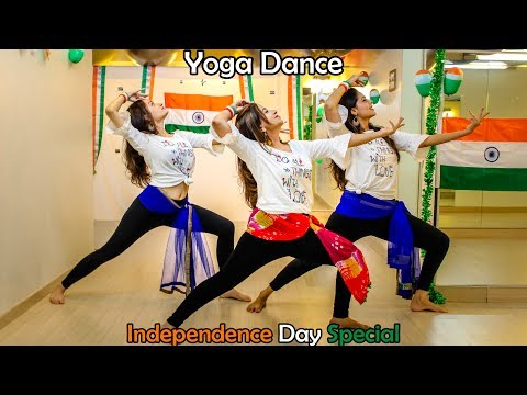 """I Love My India"" - Rhythmic Yoga Dance 