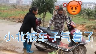 【湘妹小北】新買的摩托車沒騎半年,老是打不著火 Video