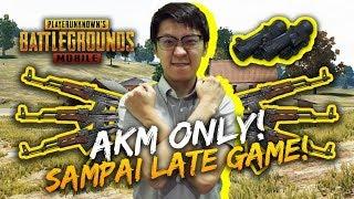 AKM Only Scope x6 Sampai Late Game! - PUBG Mobile Indonesia