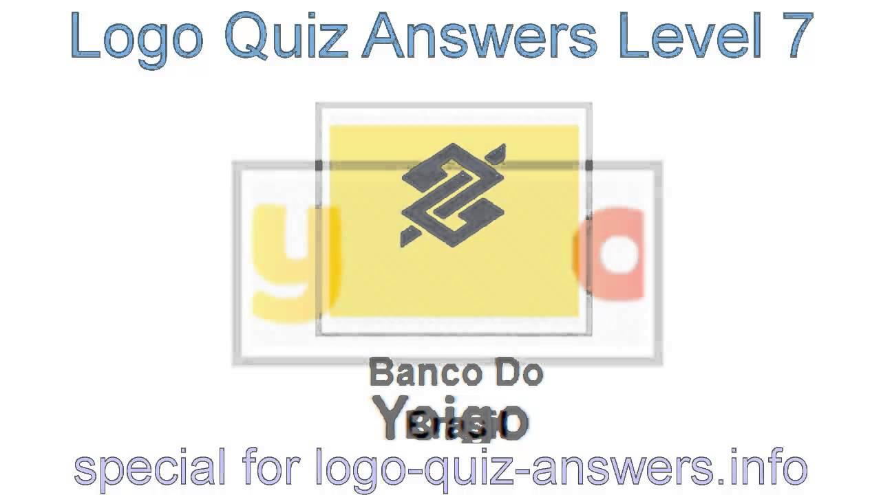 Logo Quiz Answers Level 7 - Cheats