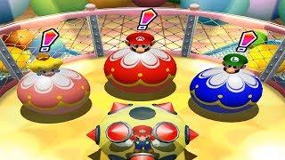 Mario Party 4 - Twins Great Battle - Mario and Luigi vs Daisy and Peach