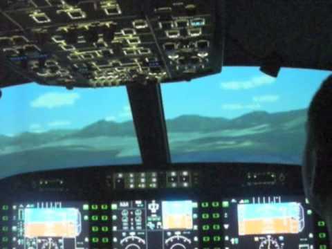 Landing a Professional Flight Simulator
