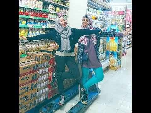 GenHalilintar Borong Supermarket   Shopping With Me Be Like #SajidahHalilintarVLOG