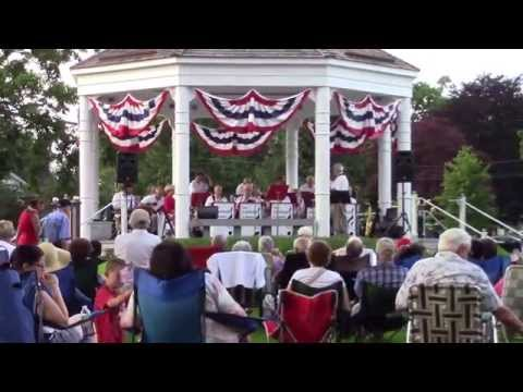 The Fairfield Counts Big Band Music - Flag Day Concert - Norwalk, Connecticut - Sunday June 14, 2015
