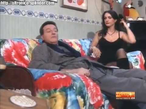 Francesca De Rosa  hot legs in black pantyhose