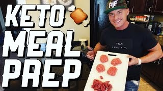 How To Meal Prep For A Keto Diet | Steak & Ground Sirloin
