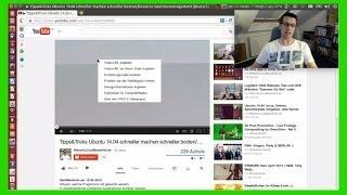 YouTube HTML5 Videos mit dem H.264 Codec in Ubuntu 14.04 im Firefox verfügbar machen [deutsch]