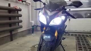 Линзы в фару мотоцикла NanFang 250 8A