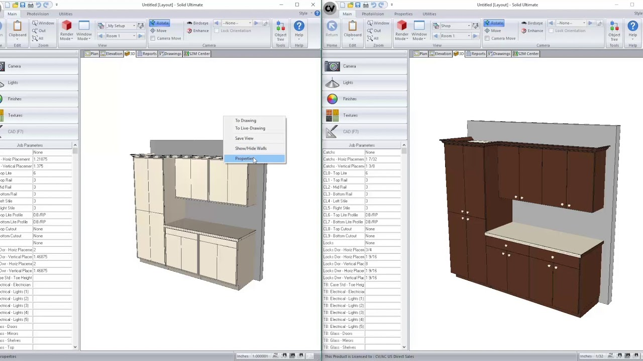Whats New In Cabinet Vision Version 11 Rendering Youtube