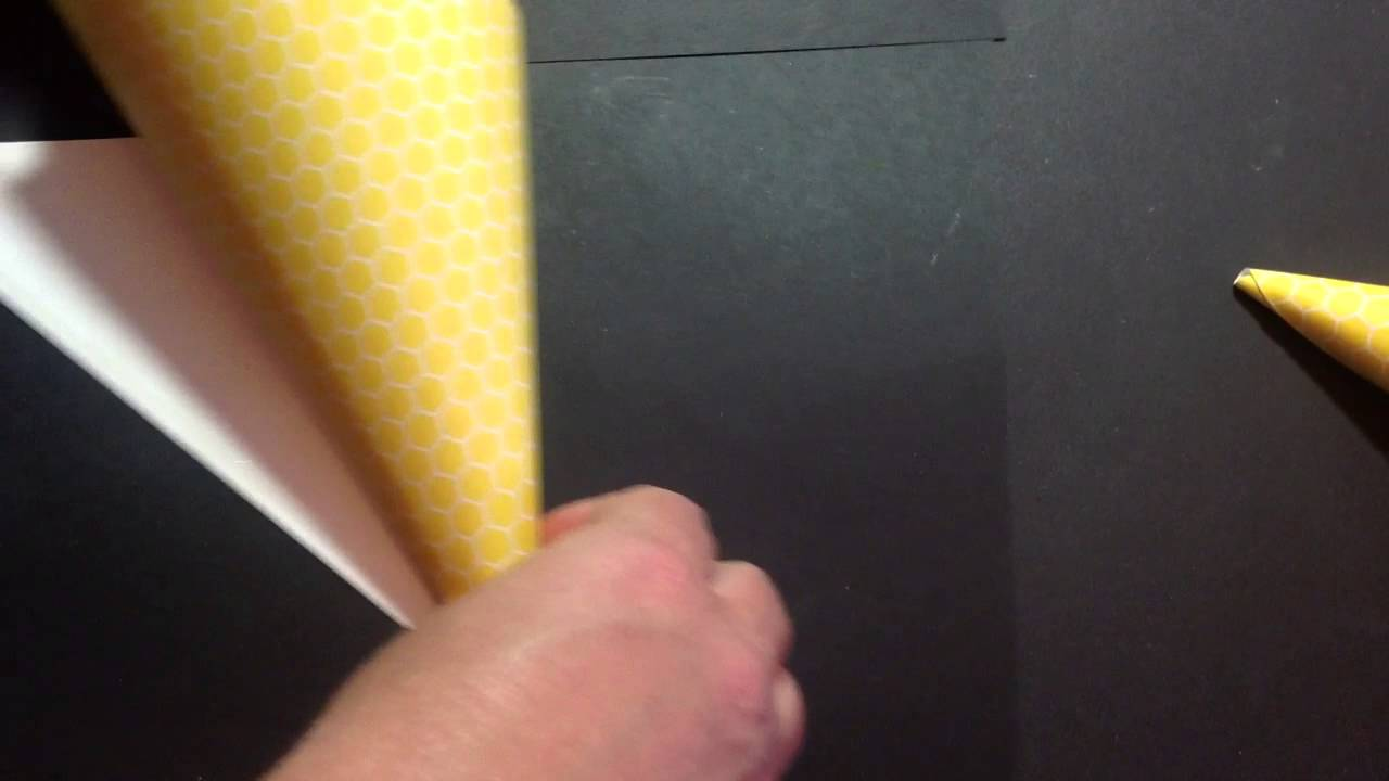 How To Make Easy Paper Cones Youtube