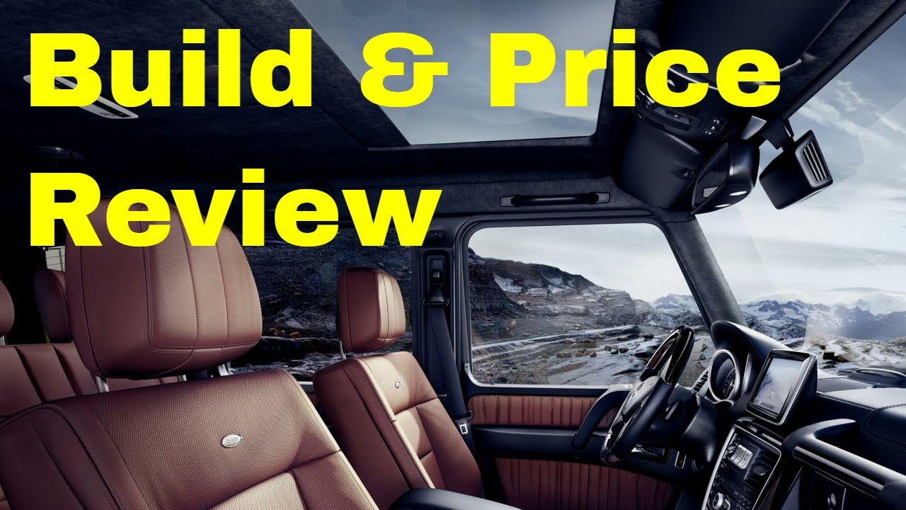 2018 mercedes benz g 550 suv build price review features packages specifications youtube. Black Bedroom Furniture Sets. Home Design Ideas