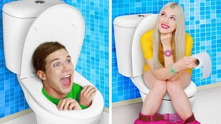 THE BEST PRANKS AND HACKS ON VACATION    Funny DIY Hacks and Tips by RATATA!