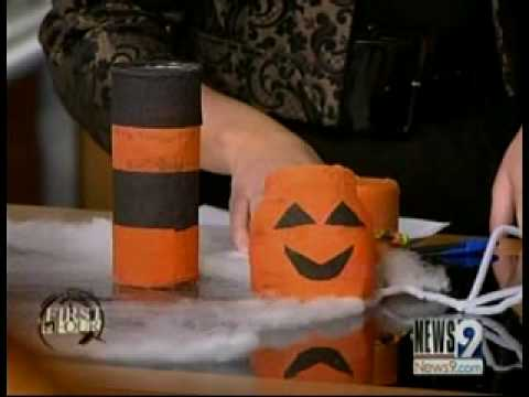 halloween decorations your kids can make
