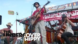 The Undercover Hippy freestyling with audience words at Big Chill / Sunrise Celebration 2008