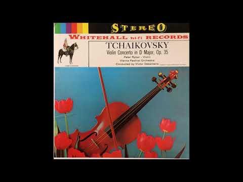 "Tchaikovsky ""Violin Concerto"" Peter Rybar/Victor Desarzens"