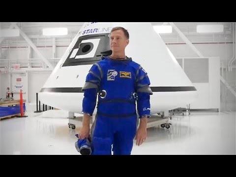 Boeing Unveils New Spacesuit Design