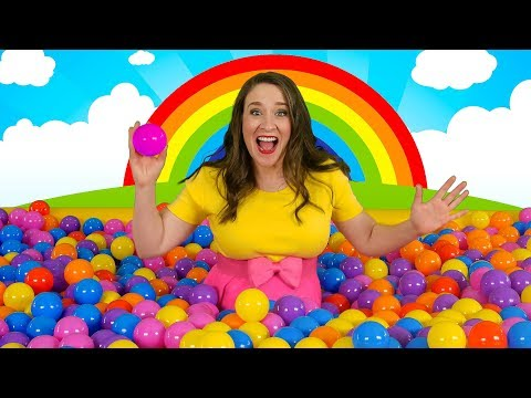 Ball Pit Party! 🎉 Kids Song for Learning Colors - Indoor Playground fun!