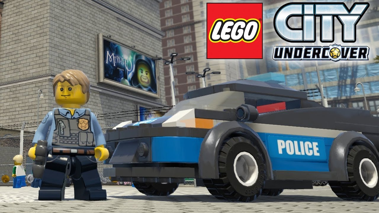 LEGO City Undercover - Lego Police Chase | Police Car ...
