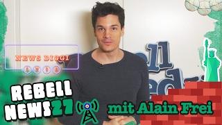 Rebell News #27 mit Alain Frei(heitsstatue)