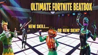 BEST FORTNITE BEATBOX/new skin!? or new skill?