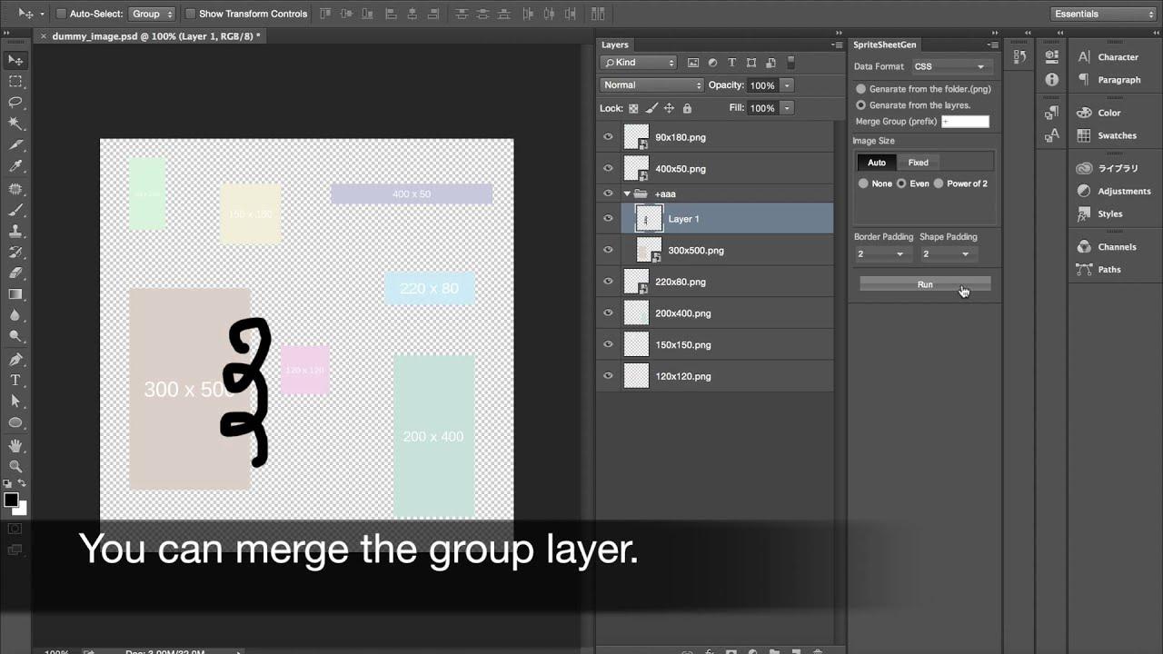 Sprite Sheet Gen for Photoshop