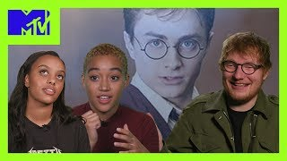 20 Years of Harry Potter ⚡️ | Ed Sheeran, Amandla Stenberg & More Celebs Share Their Memories | MTV
