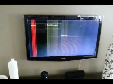Tv Lcd 46 Samsung Problema Display Youtube