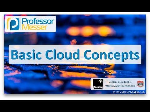 Basic Cloud Concepts - CompTIA A+ 220-902 - 2.3