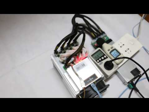 The Antminer L3 Litecoin Miner 250MH for Scrypt Mining Performance Test Video