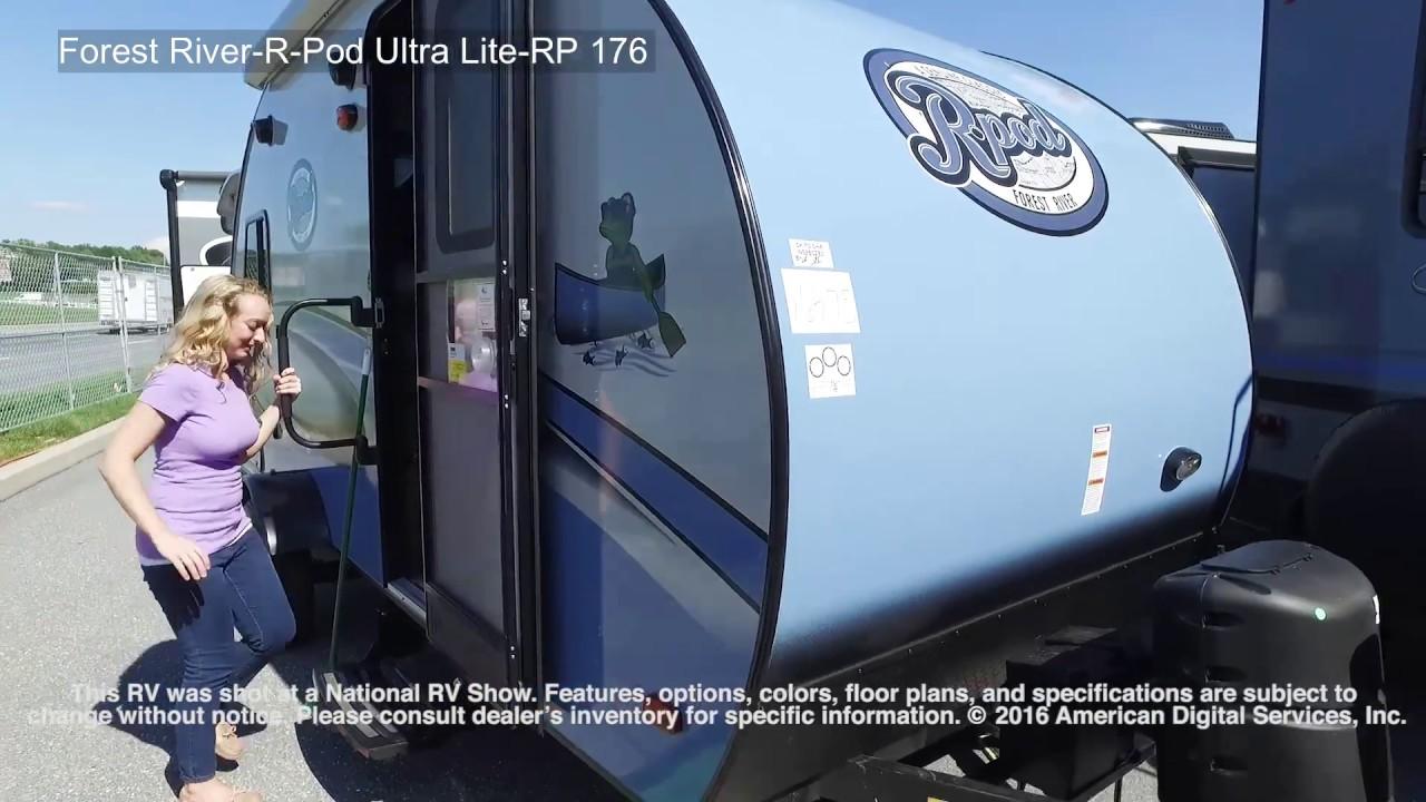 New 2019 Forest River RV R Pod RP-176 Travel Trailer at ... R Pod Floor Plans Bunkhouse on