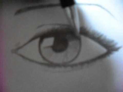 aprenda a desenhar olhos por Árion youtube