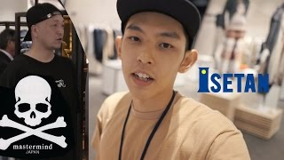 逛Isetan遇見mastermind Japan主理人?! [Eng Sub] Bumped into founder of MMJ at Isetan Lot10