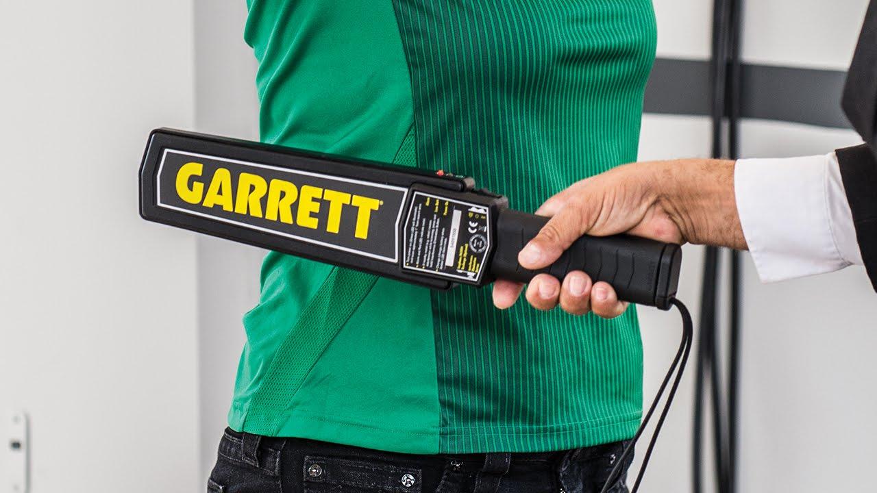 Garrett Super Scanner Instructional Video - YouTube