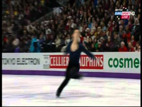 Patrick Chan - 2013 World Championships - SP