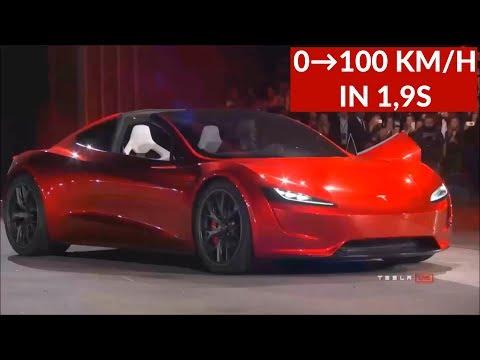 Tesla Roadster 2 ||0→100 in 1,9s!!!|| + e-LKW