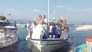 Here comes the Bride, Kassiopi Corfu Greece, with KCTV.