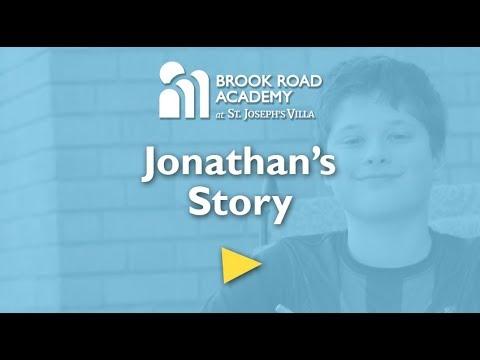 Jonathan thrives at Brook Road Academy
