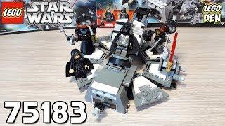 Обзор LEGO Star Wars 75183 - Darth Vader Transformation (Превращение в Дарта Вейдера)