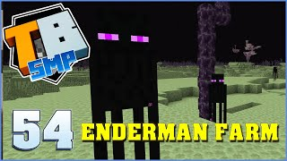 Enderman Farm | Truly Bedrock Season 2 Episode 54 | Minecraft Bedrock Edition