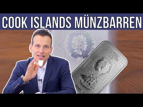 1 Unze Münzbarren ⚡ Cook Islands Silbermünze als Barren