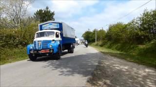 tour de bretagne des vehicules anciens ( partie N°1) Fouesnant 2016