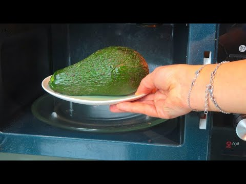 Put The Avocado In Microwave A