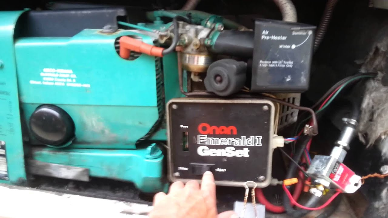 Onan Emerald 1 Wiring Diagram Manual Of Propane Generator Fuel Flow Issue Fix Pt 2 Youtube