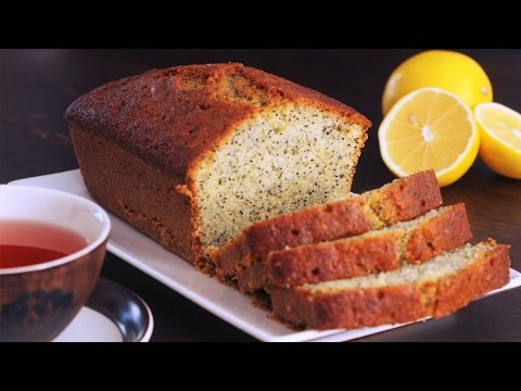 Lemon Poppy Seed Pound Cake Recipe