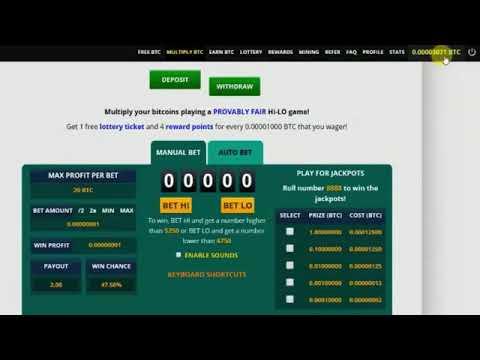 FREE BITCOIN Multiply BTC Hack