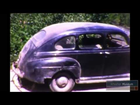 Driving up to Whistler 1958 - Petersen Film Collection