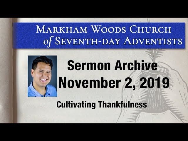 Cultivating Thankfulness - S19 E29