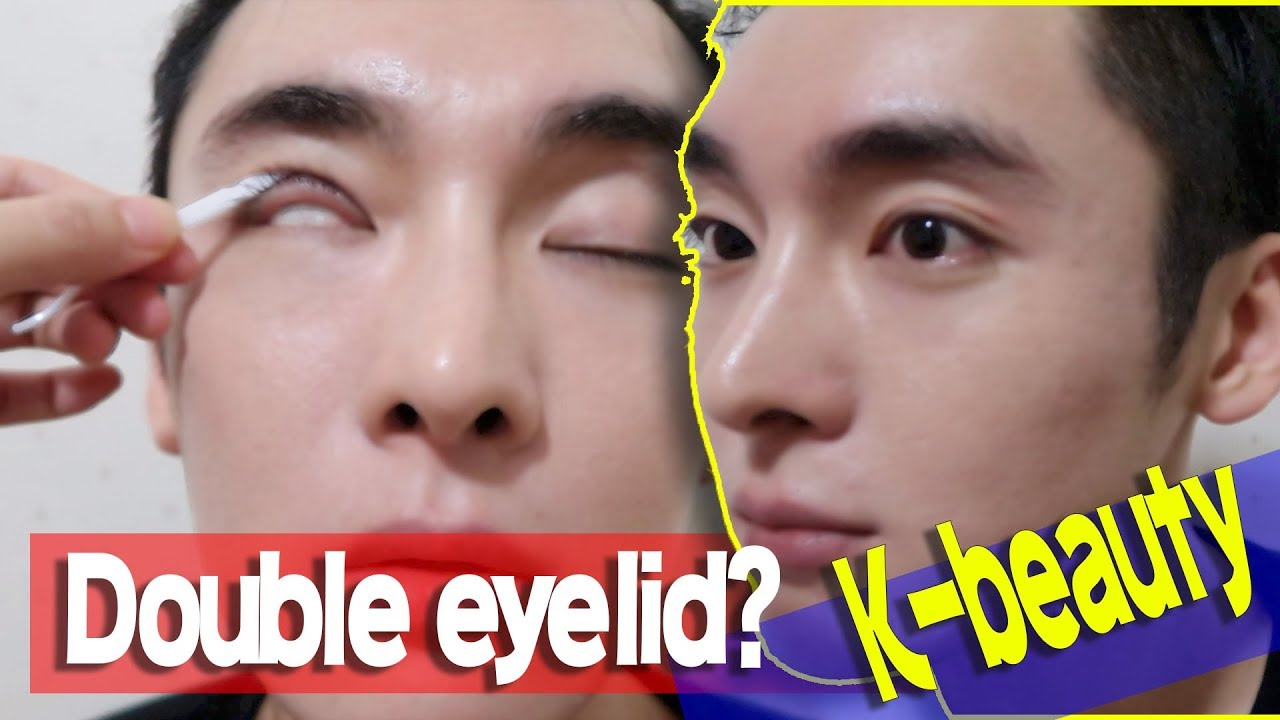 Double eye lid Glue, Tape // Korean beauty products for Monolid & Hooded Lid